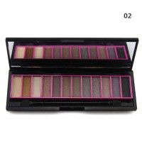 Hot Selling 12 Colors Eye Shadow Makeup Set Naked Eyeshadow Palette gift 2 Generation With Eyeshadow Brush