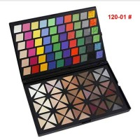 120 Colors Professional Dazzling Full Ultra Shimmer Eyeshadow Makeup Cosmetic Palette+Red Bag X120