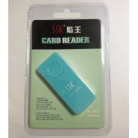 SSK All in one SD microSD MMC MS USB2.0 Card reader SCRM053