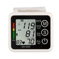 Health Care Automatic Digital Wrist Blood Pressure Monitor Sphygmomanometer For Father and Mother