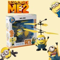 Remote Control RC Helicopter Despicable Me Minion Quadcopter Drone Kids -VS Cheerson
