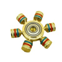 2017 New Fidget Spinner, Magicfly 6 Wings Detachable Hand Spinner,Luxury Quality,Help Focus and Reduce Stress, Spins 4 Minutes