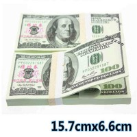 hot 1-100 Dollars Paper Money Bank USA New 100pcs Training Collect Learning Banknotes