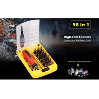 100% Original JACKLY Brand 38 in 1 Magnetic Screwdriver Precision Screw Driver Tool Kit Torx for computer and home repair