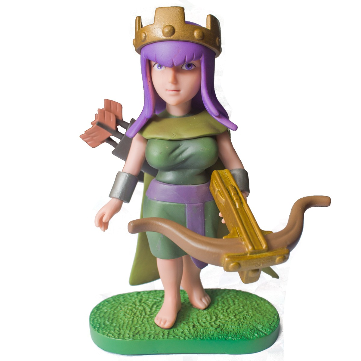 Clash of Clans Archer Queen Barbarian King PVC Action ...