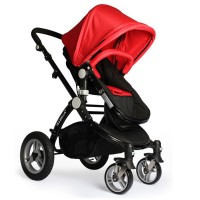 Fashion&Simple baby stroller with four safety protection system