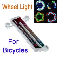 Wheel Light For Bicycles