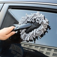 Hot Sale 1PC Multi-functional Car Duster Cleaning Dirt Dust Clean Brush Dusting Tool Mop Brush