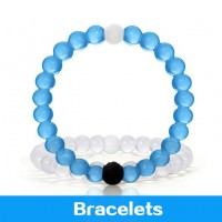 Free shipping LOKAI Office/Career Unisex Bead Anion Silicone Round Fashion Bracelets&Charm Bracelets&Hologram Bracelets QS-20151