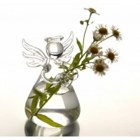 Hot Sale Fashionable Design Clear Hanging Glass Flower Plant Vase Hydroponic Container Pot Home Decor Office Beautiful