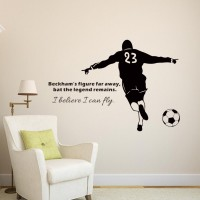 Awesome Carved Figures Baker Football Soccer Decal Sticker Home Decoration Wall  Stickers Home Decor Men Or Boys Part 21