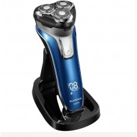 Hot FLYCO375 Washable Rechargeable Rotary Men's Electric Shaver Razor FS375