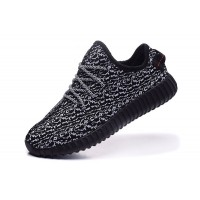 Hot Yeezy Boost 350 black running shoes for men sneakers original quality