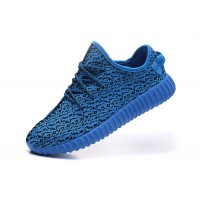 Hot Yeezy Boost 350 blue running shoes for men sneakers original quality