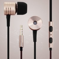 Original Xiaomi Pistons 2 1.2m Round Cable In - ear Earphone 3.5mm Jack Headphone with Mic and Song Switch