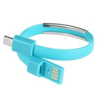 TPE Bracelet Data Cable for Samsung, HTC & More Android Mobilephone