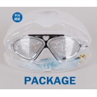 Anti-fog Swimming Goggles Submersible Mirror Big Box Big Face Mask J8170 Cat-eye