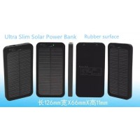 5000mAh Solar Battery Panel Charger Mobile Power bank External Battery Charger For Mobile Phone GPS Tablet PC
