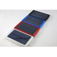 Solar Panel Charger 10000mAh Dual-Port Backup Battery Power Bank for Smart Phone Tablet PC Laptop Samsung Nokia