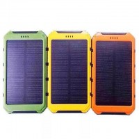 6000mAh Solar Power Bank Unversal Waterproof Battery Charger for Cell Phone Digital Camera Tablet PC