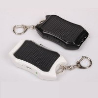 Solar Power Bank 1200mAh Solar Keychain Solar Charger External Battery Portable Charger/Battery Pack PowerBank for iPhone Samsung Nokia MD2198