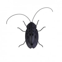 Novelty Toys Children Insect Bug Teaching Fun Gadget Toy Gift Solar Cockroach Energy Cockroach Solar Power Energy Toys