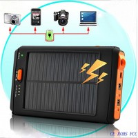 Solar Power Charger 12000mAh Universal Laptop Power Bank for Cellphone Tablet PC PDA GPS DVD
