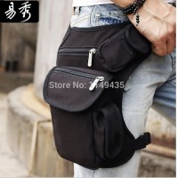 Men belt bag Canvas leg bags waist pack bag fanny pack running belt men travel bicycle bags