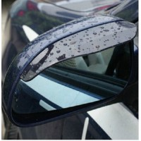 NEW ! New fit all car Rearview mirror rain gear 3D Car Rain Eyebrow for 2009-2011 2012 2013 Ford Focus accessories
