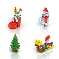 Christmas Building Blocks Diamond Block Toys for Children