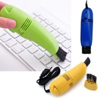 Mini USB Vacuum Keyboard Cleaner Brush