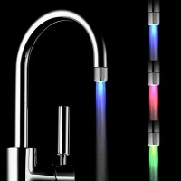 Automatic Color Changing Water Stream Faucet Tap for Bathroom Kitchen