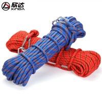 Xinda outdoor rescue rope climbing safety rope climbing rope insurance escape rope field walking survival equipment
