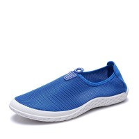 Summer Mesh Shoes Korean Version of Casual Shoes Breathable Mesh Men's Shoes A Pedal Soft Bottom Shoes Lazy Shoes Hollow Drive