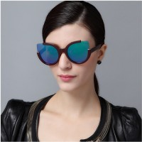 2016 New Fashion Sunglasses Women Sexy Personalized Sunglasses Bright Color Mirror