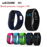 2016 New M5 Heart Rate, Blood Pressure and Oxygen Monitoring Fatigue Smart Bracelet Fashion Bracelet