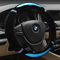 The New Winter Plush Sets The Steering Wheel Cover