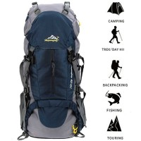 Amazon Explosion Outdoors 50L Mountaineering Bag Backpack Outdoor Mountaineering Bag Large Capacity