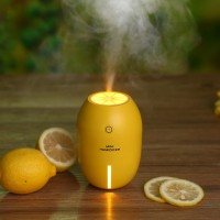 Mini Humidifier Lemon Night Light Humidifier Creative Home Bedroom USB Humidifier