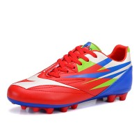 Soccer shoes outdoor shoes breathable wear training shoes turf