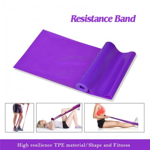 1.5M TPE Stretch Belt Yoga with Elastic Band