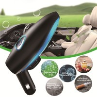 Car air purifier charge dual USB smoke in addition to anion