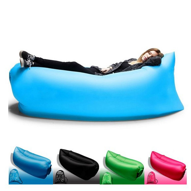 Portable Inflatable Sofa Single Inflatable Sofa Bed Beach Lazy
