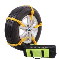 Automobile general tendon thickening anti - skid chain sand snow emergency tire special anti - skid chain