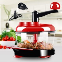 Manual Meat Grinder Multi - Functional Chopper Chopper Machine Dumplings Twisted Stuffing Machine Cooking Machine