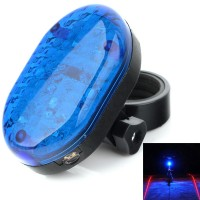Bicycle Riding Impression A51 Projection Laser Taillights - Blue