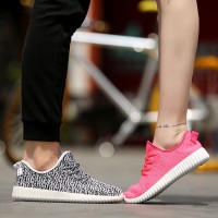 2016 New Spring and Summer Men Shoes Breathable Mesh Weave Shoes Flying Korean Version of Casual Sports Shoes for Men and Women