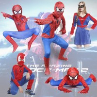 Halloween Costume Cosplay Costumes for Children and Adults Child Adult Siamese Tight Clothes Amazing Spider-Man