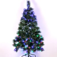 Christmas Supplies Wholesale New Christmas Tree Decorations LED Lights Shopping Malls Counter Window Ornaments Pendant