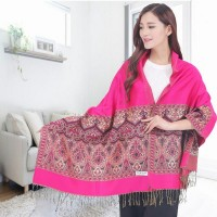 Cotton Scarf Female Winter 2016 Large Folk Style Scarf Shawl Dual-purpose Beach Tourism